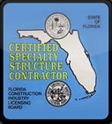 Certified Specialty Structure Contractor