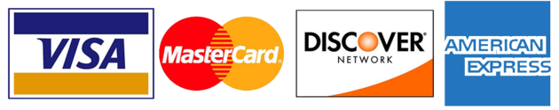 Four Major Credit Card Logos